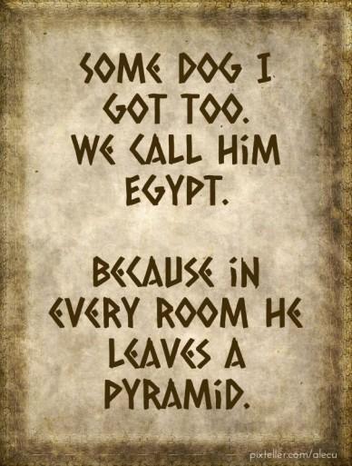 Egyptian design...