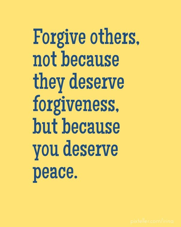 Forgive Others Not Because They Image Customize Download It For