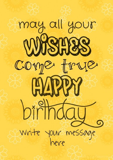 May all your wishes come true - RePix to Turn Words Into Amazing Image!