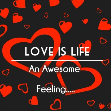 Love is life an awesome feeling..... romantic serials