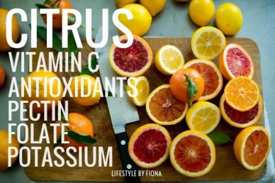Citrus vitamin c pectin folate potassium antioxidants lifestyle by fiona