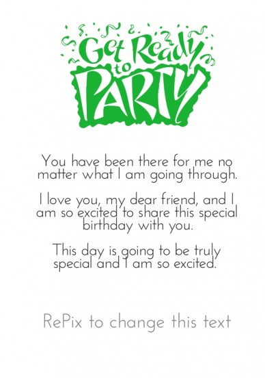 Write Birthday Wishes Here - RePix