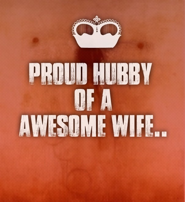 Proud Hubby Of Aawesome Wife Image Customize Download It For