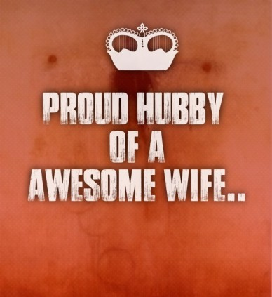Proud hubby of aawesome wife..