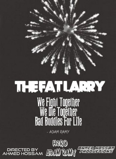 The fat larry poster