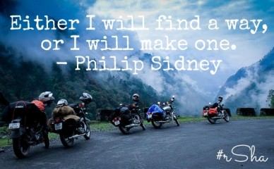 Either i will find a way, or i will make one. - philip sidney #rsha