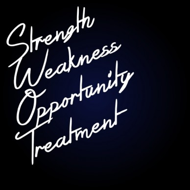 Weakness strength opportunity treatment