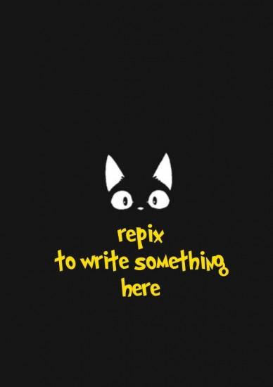 Repix to write something here