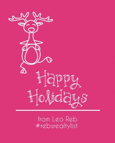 Happy holidays from leo reb#rebsrealtylist