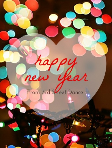 Happy new year from 3rd street dance