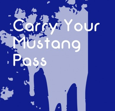 Carry your mustang pass