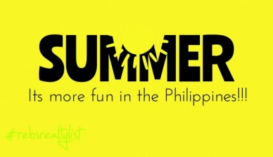 Summer its more fun in the philippines!!! #rebsrealtylist