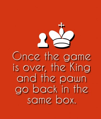Once the game is over, the king and the pawn go back in the same box. dafuqfunnies.net