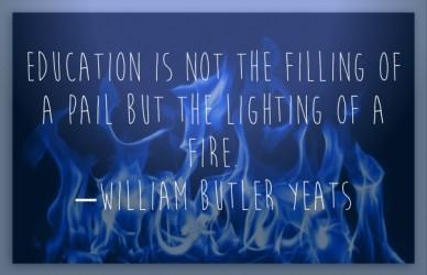 Yeats on Education