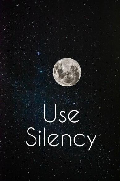 Use silency