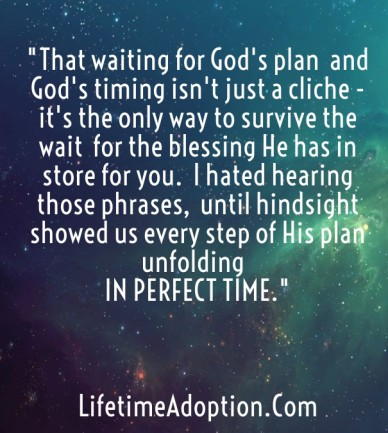 """""""that waiting for god's plan and god's timing isn't just a cliche - it's the only way to survive the wait for the blessing he has in store for you. i hated hearing those phras"""