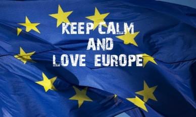 Keep calm and love europe