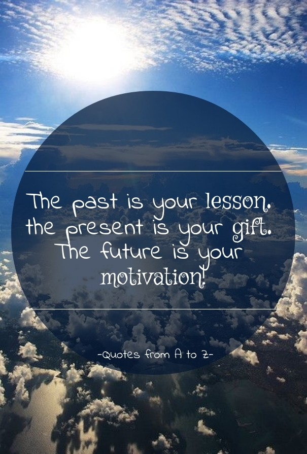 The Past Is Your Lesson The Present Image Customize Download It