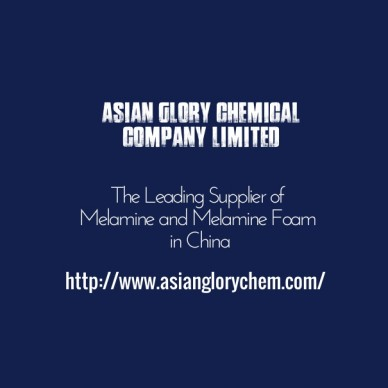 Asian glory chemical company limited is the leading supplier of melamine and melamine foam in china. http://www.asianglorychem.com/