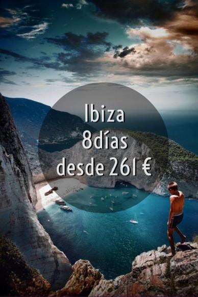 Ibiza 8díasdesde 261 €