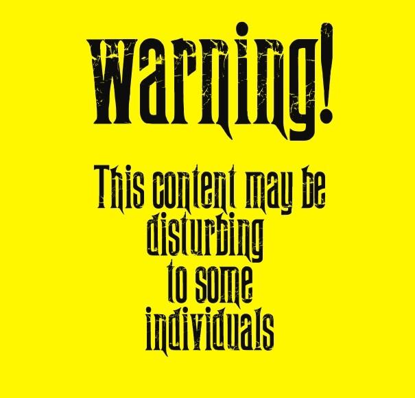 Image result for disturbing images warning
