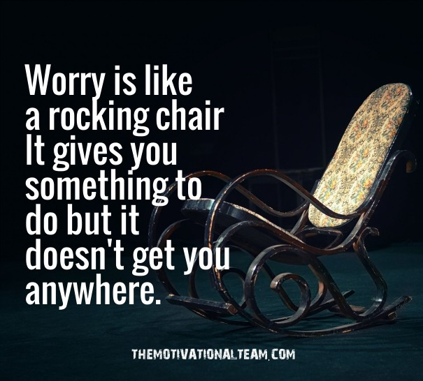Worry Is Like A Rocking Chair It Image Customize Download It For