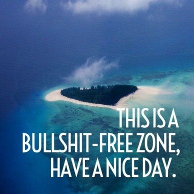 This is a bullshit-free zone, have a nice day.