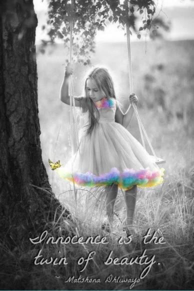 Innocence is the twin of beauty . ~ matshona dhliwayo