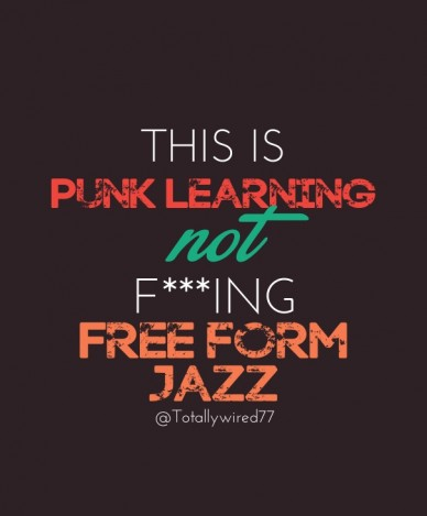 This is punk learning not f***ing free form jazz @totallywired77