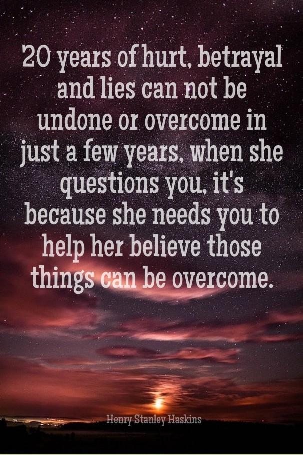 how to overcome lies