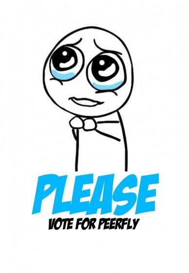 Vote for peerfly please