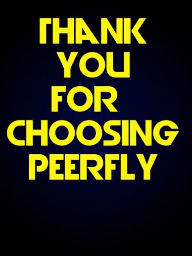 Thank you for choosing peerfly