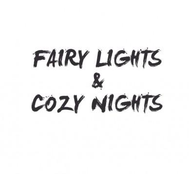 Fairy lights & cozy nights