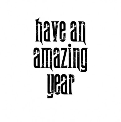 Have an amazing year