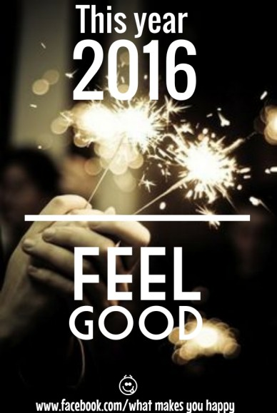 This year 2016 feel www.facebook.com/what makes you happy good