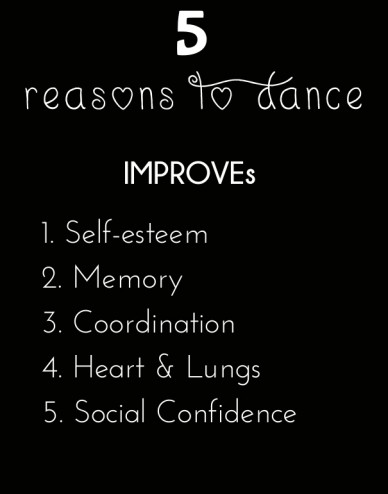 5 reasons to dance improves