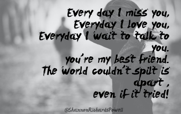 Every Day I Miss You Everyday I Image Customize Download It For