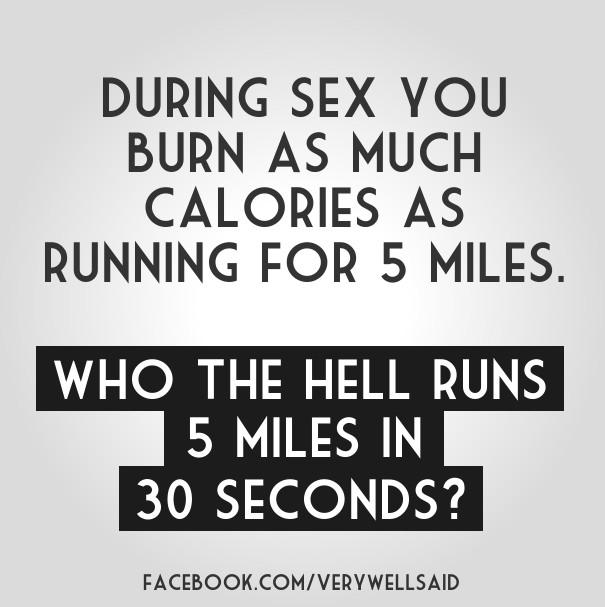 Do you burn calories while having sex