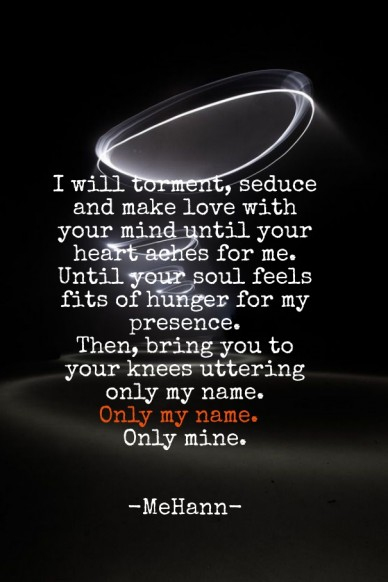 Only mine.