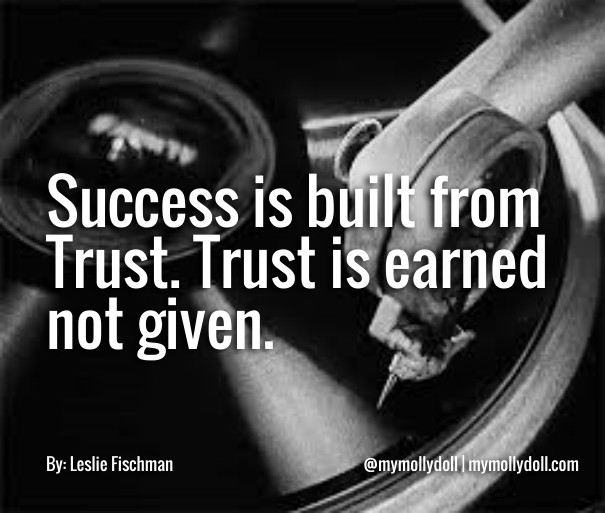 Quotsuccess Is Built From Trust Image Customize Download It