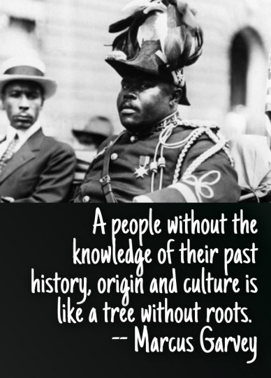 A people without the knowledge of their past history, origin and culture is like a tree without roots. -- marcus garvey