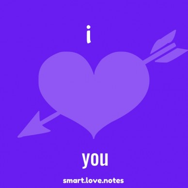 I smart.love.notes you