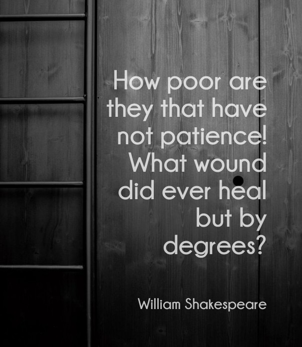 Shakespeare On Patience Image Customize Download It For Free