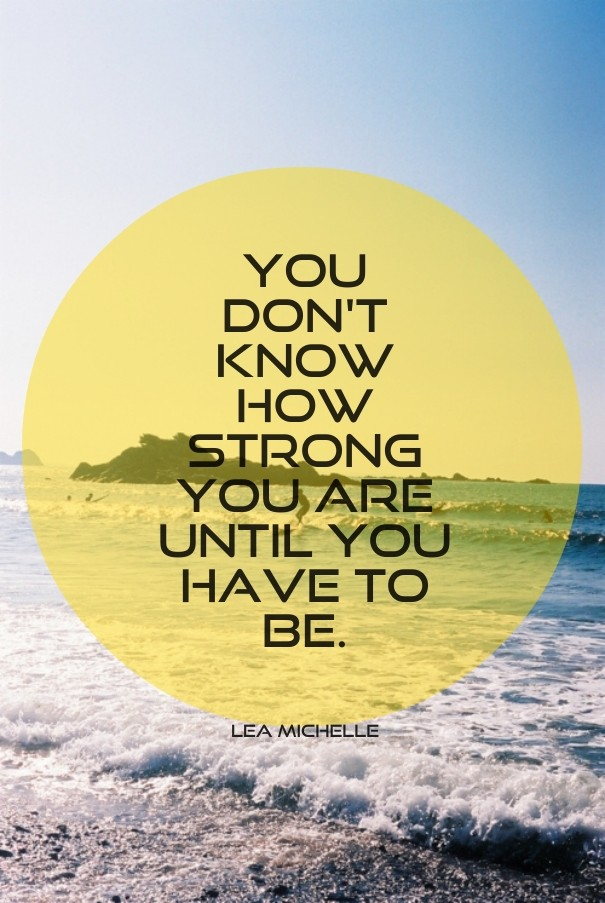 You Dont Know How Strong You Are Image Customize Download It