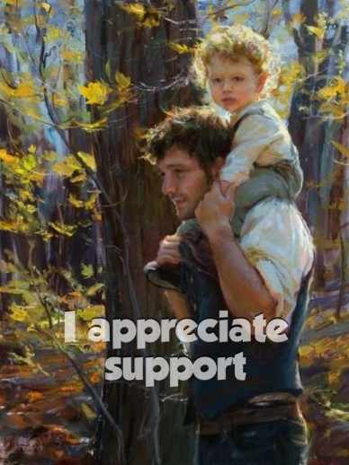 I appreciate support