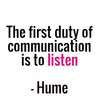 Duty of communication Quote