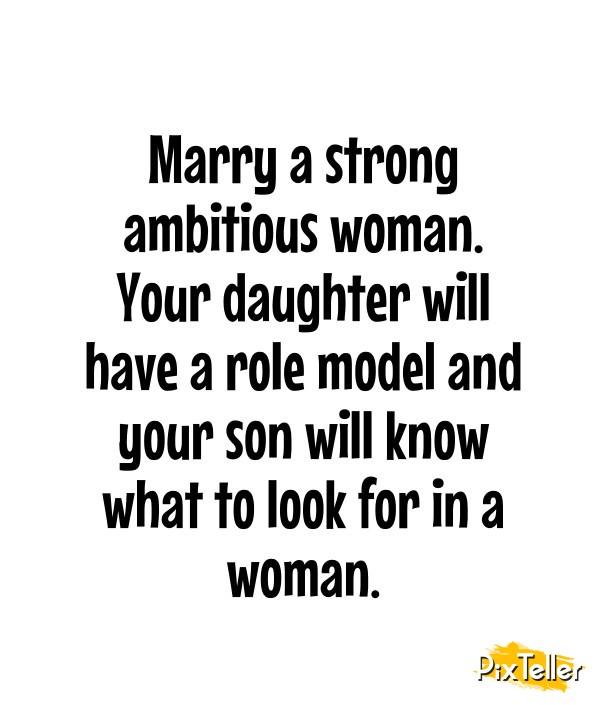 what to look for in a woman to marry