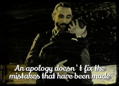 An apology doesn't fix the mistakes that have been made
