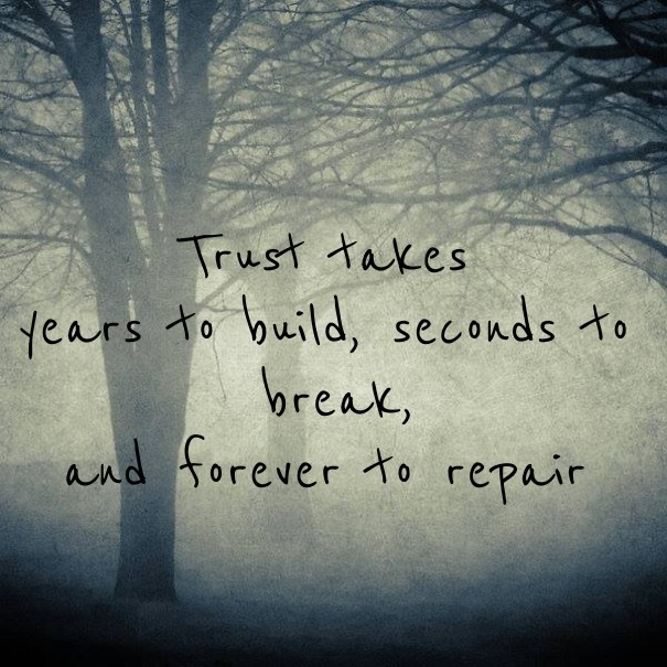 Top 100+ Trust Takes Years To Build