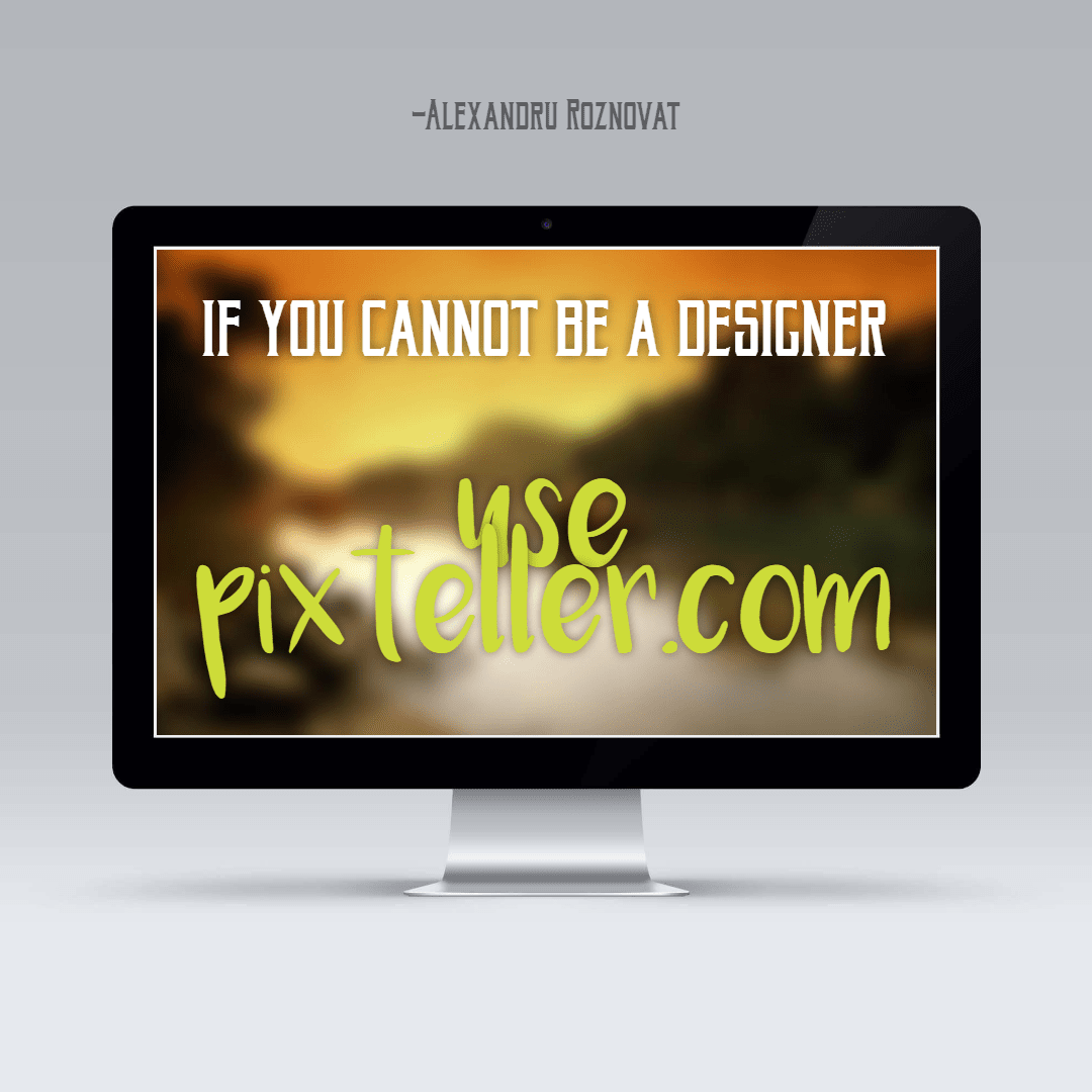 If you cannot be a designer - Use Design  Template